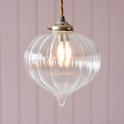 Ava Pendant Light in Antiqued Brass