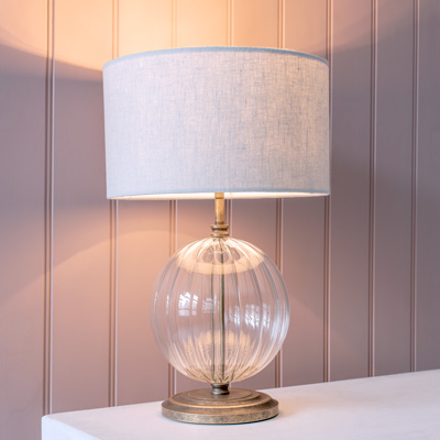Fluted Harleston Fluted Table Lamp
