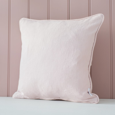 Waterford Cushion in Vintage Pink