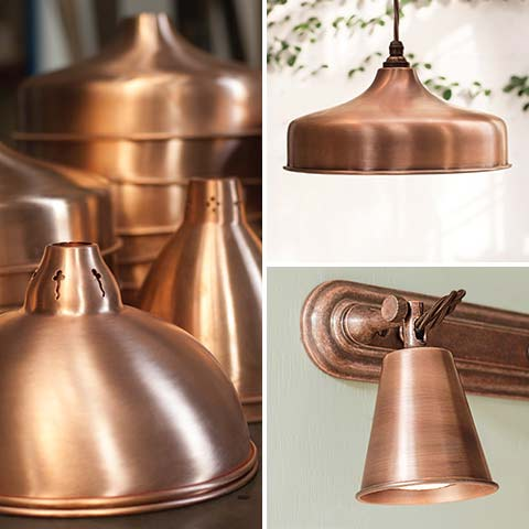 Heritage Copper finish