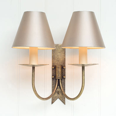 Double Cottage wall light