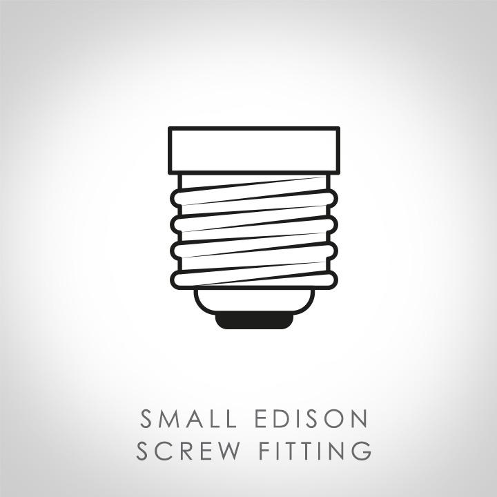 Small Edison screw fitting