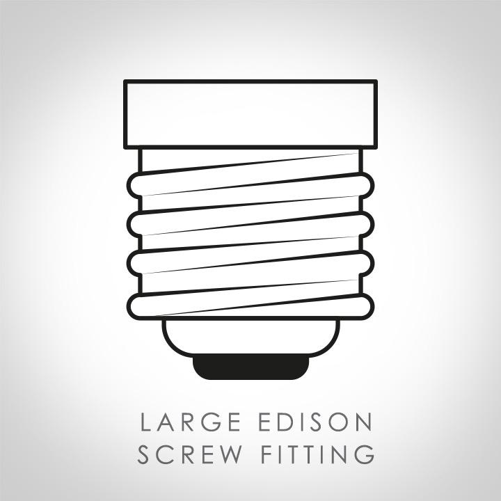 Large Edison Screw fitting