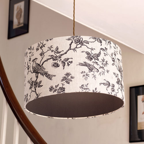 Isabel Linen shade with diffuser