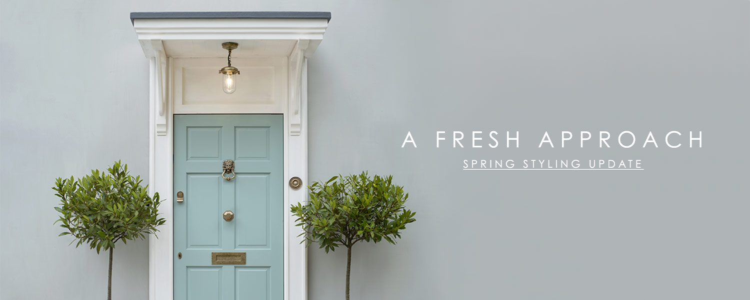 Fresh Approach door furniture from Jim Lawrence