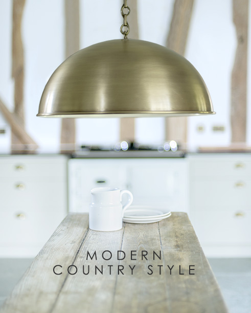 Country kitchen styling inspiration >
