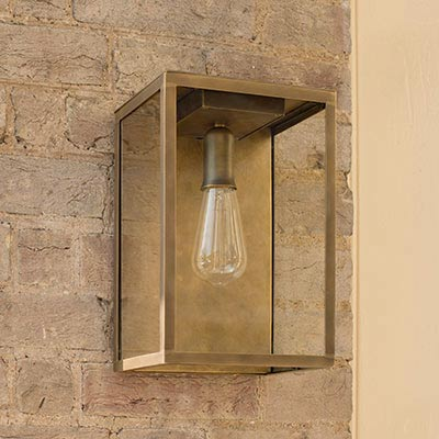 Outdoor Lighting | Garden Wall Lights | Hand Finished in UK