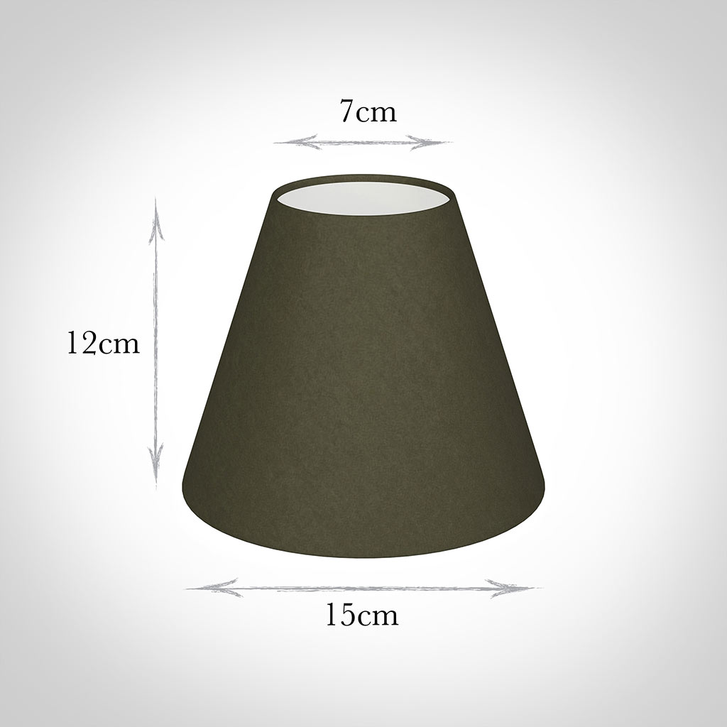 Candle Shade in Laurel Satin