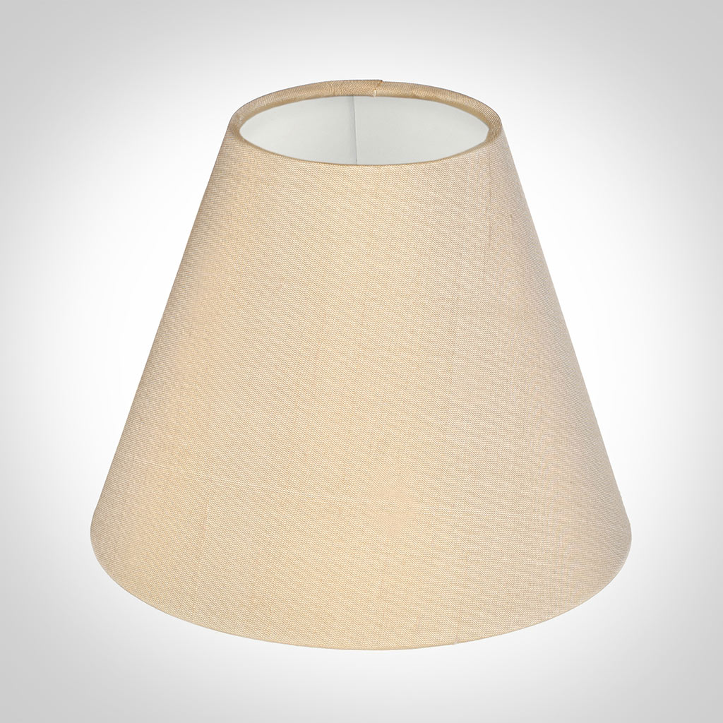 Candle Shade in Buttermilk Silk