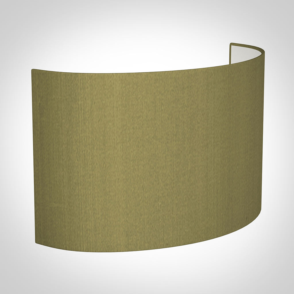 32cm Carlyle Half Shade in Antique Gold Silk(with Shade Ring)