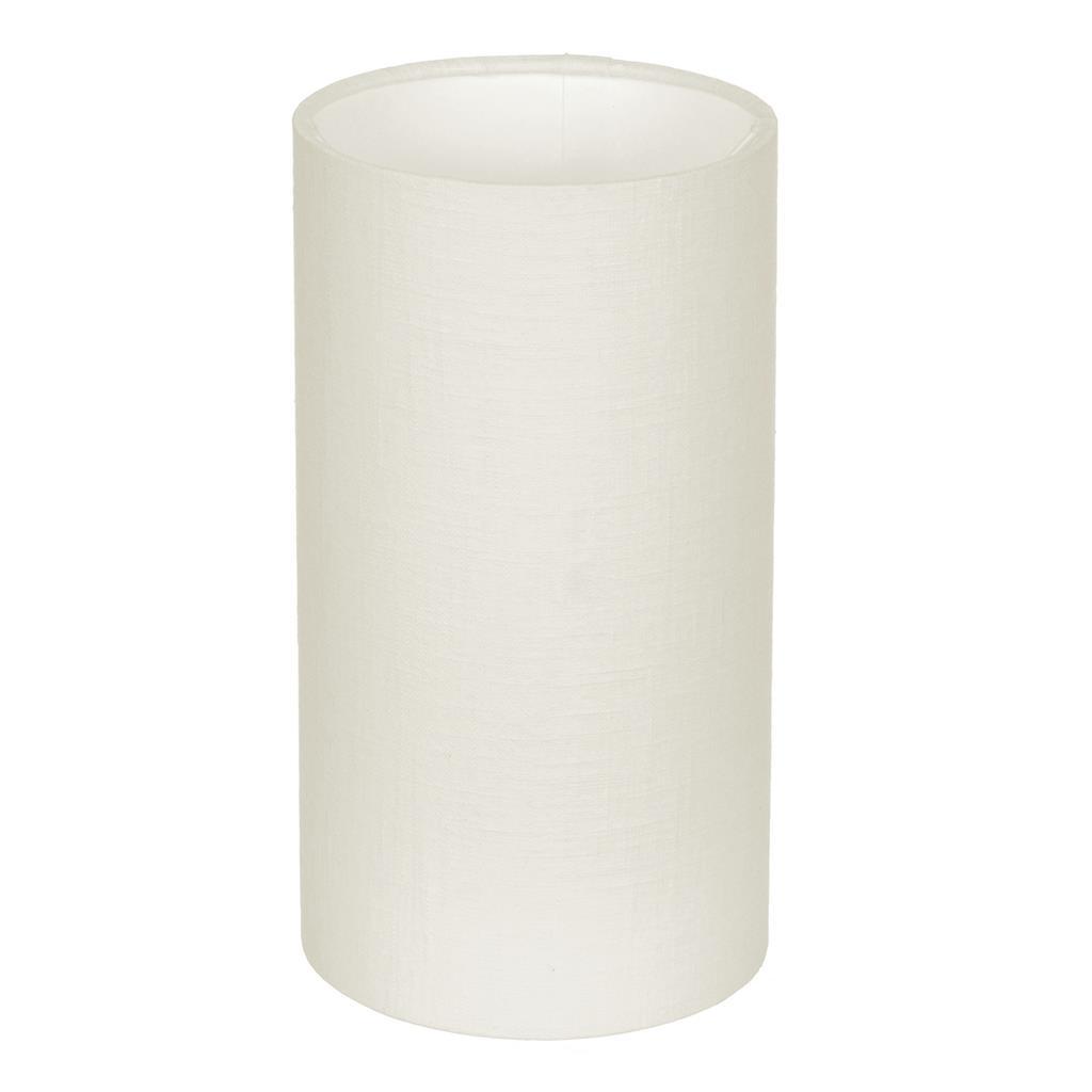 12cm Narrow Cylinder Shade In Cream Killowen Linen