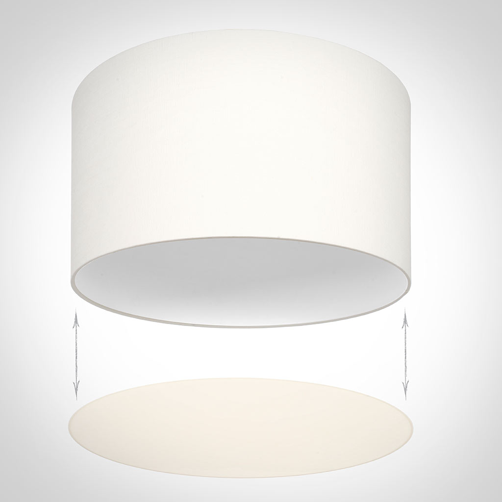 Diffuser for 35cm Cylinder Shade in Cream Velum