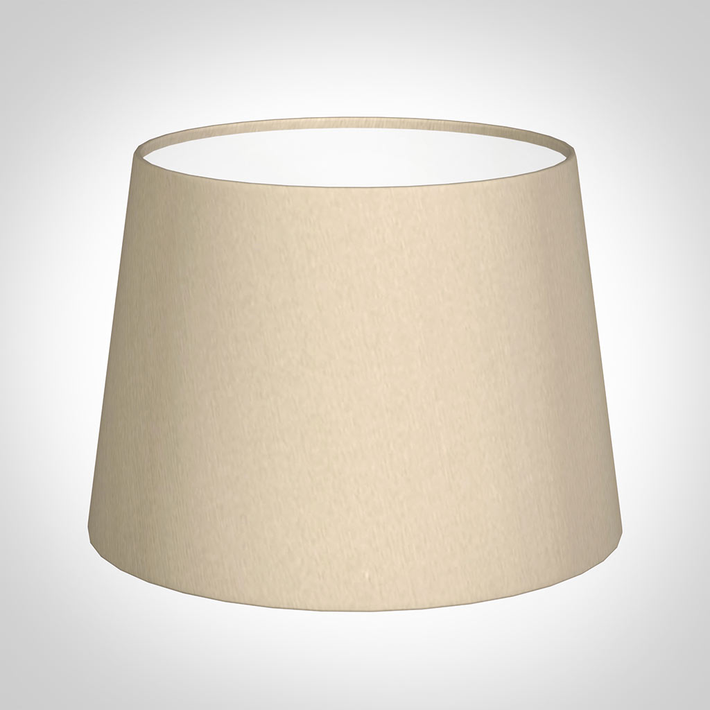 20cm Pendant Medium French Drum Shade in RoyalOyster Silk