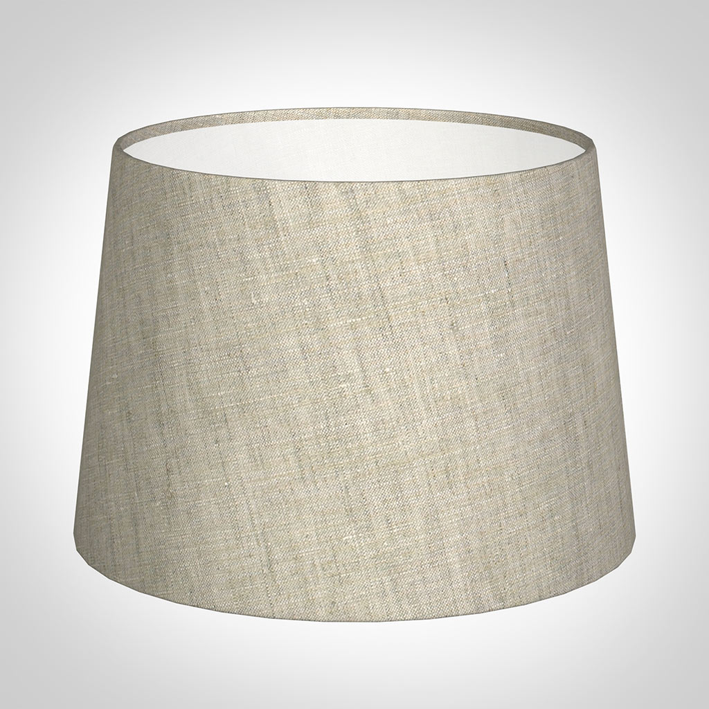 30cm Pendant Medium French Drum Shade in NaturalIsabelle Linen
