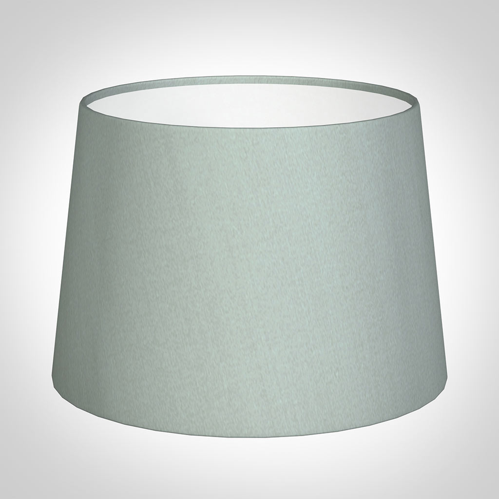 30cm Pendant Medium French Drum Shade in French Grey Silk