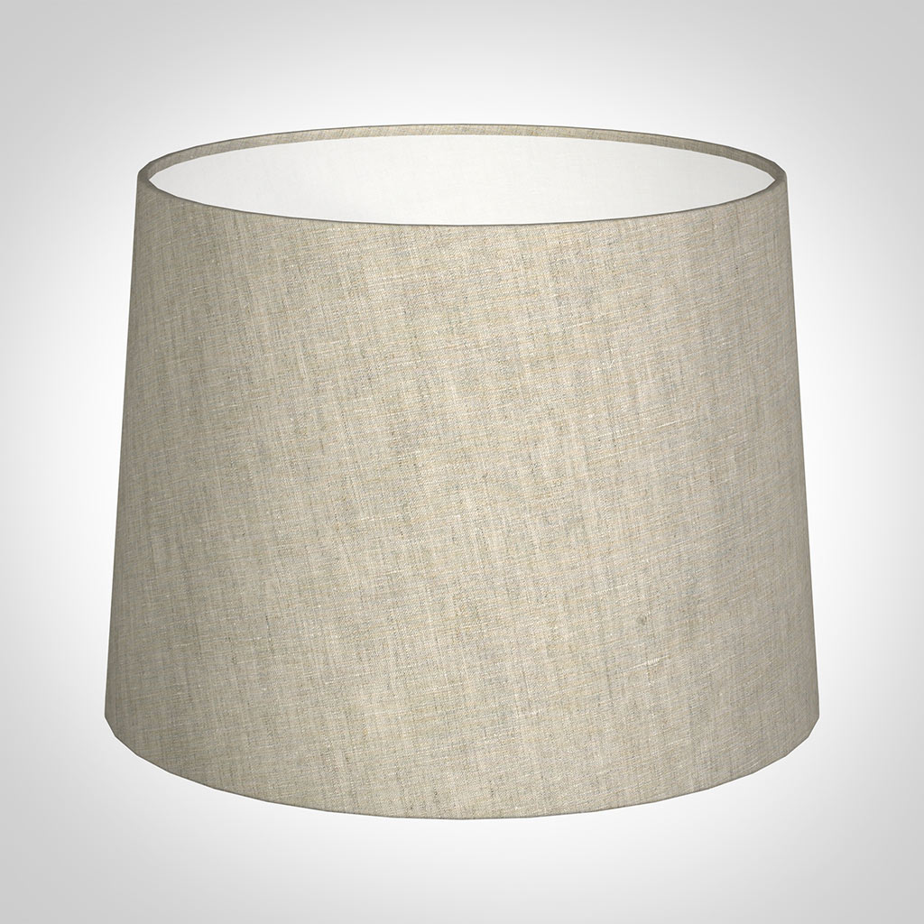 50cm Medium French Drum Shade in Natural Isabelle Linen