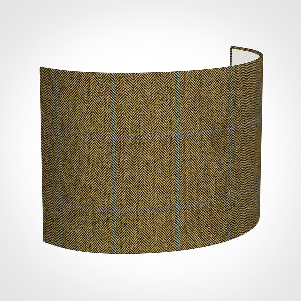 28cm Carlyle in Angus Check  Lovat Wool
