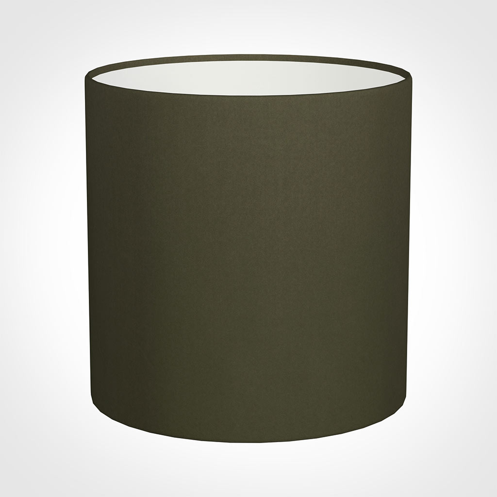 25cm Medium Cylinder Shade in Laurel Satin