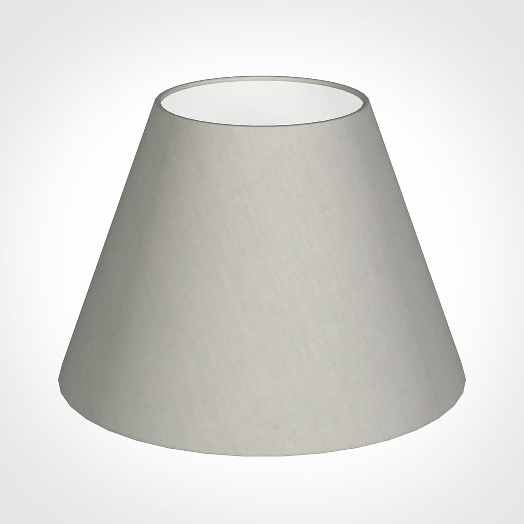 25cm Empire Shade in Soft Grey Waterford Linen