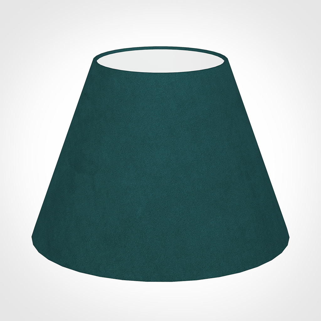 30cm Empire Shade in Teal Hunstanton Velvet