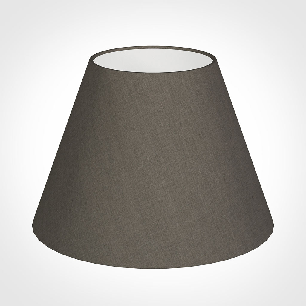 35cm Empire Shade in Mouse Waterford Linen