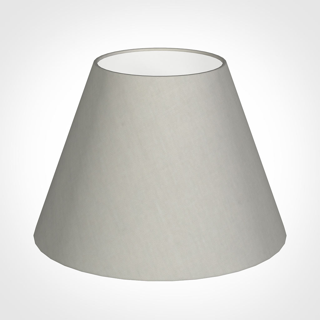 35cm Empire Shade in Soft Grey Waterford Linen