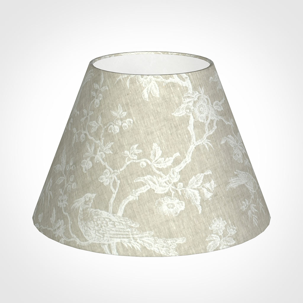 40cm Empire Shade in White Isabelle