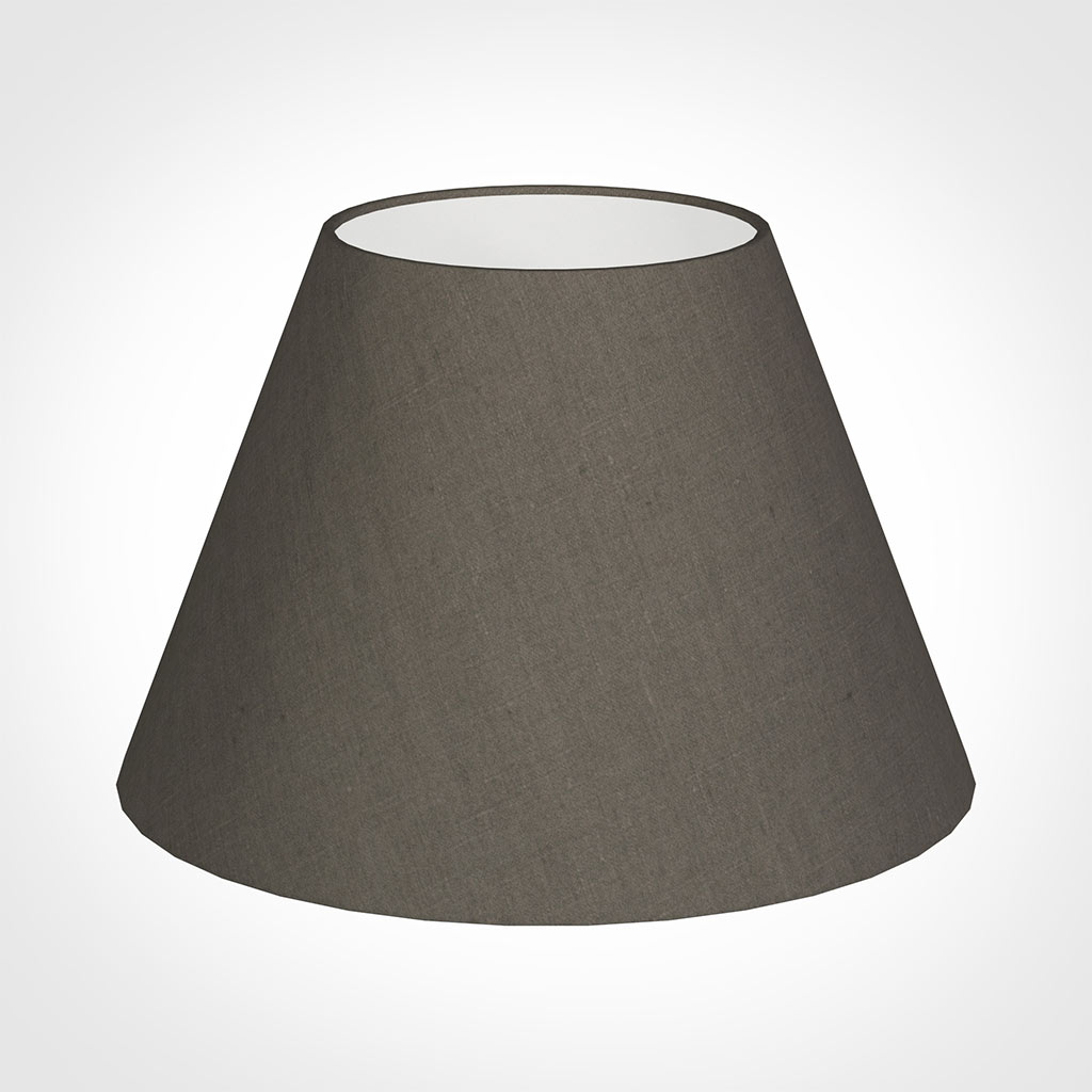 40cm Empire Shade in Mouse Waterford Linen