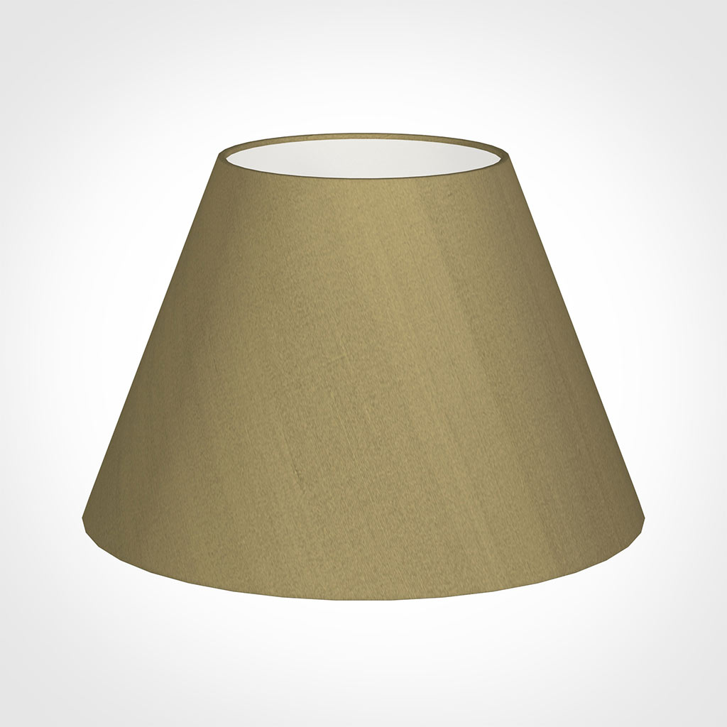 50cm Empire Shade in Dull Gold Faux Silk
