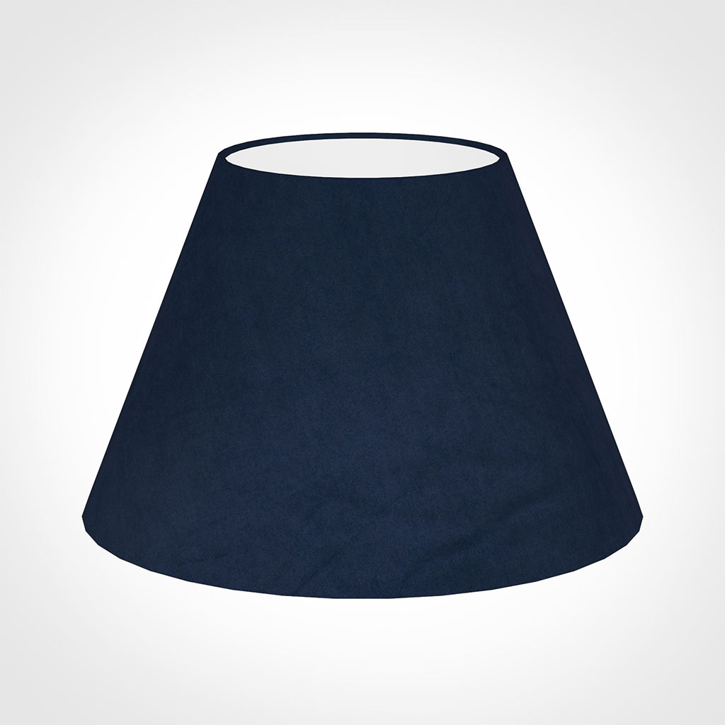 50cm Empire Shade in Navy Blue Hunstanton Velvet