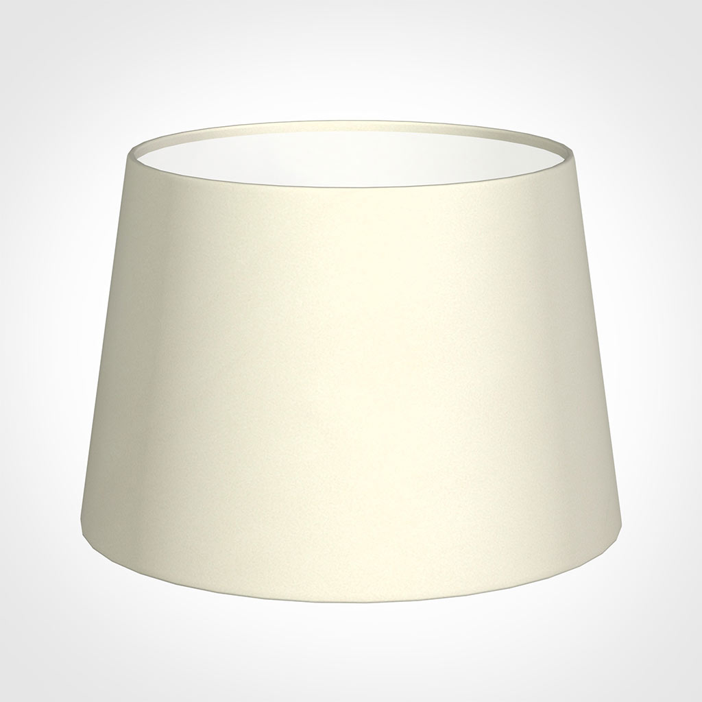 25cm Medium French Drum Shade in Cream Satin