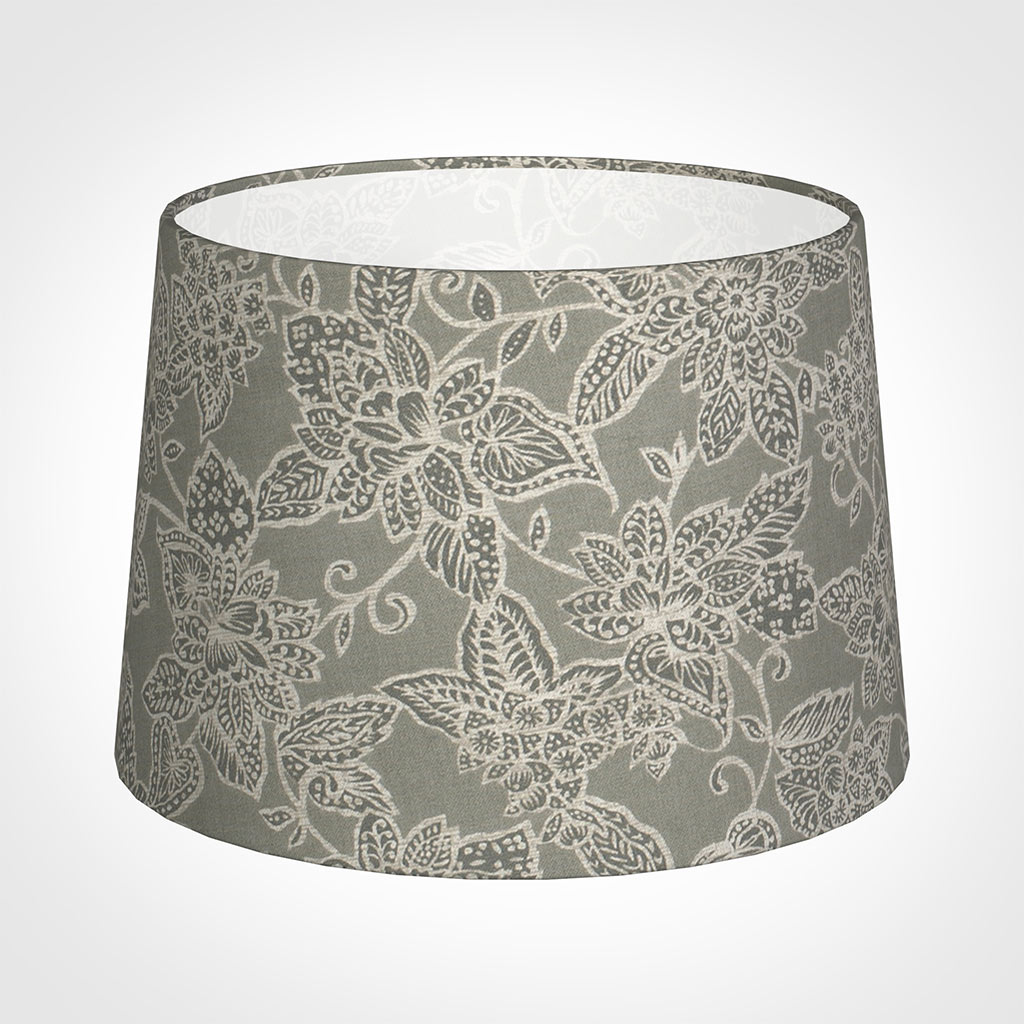 35cm Medium French Drum Shade in Grey Cheveley