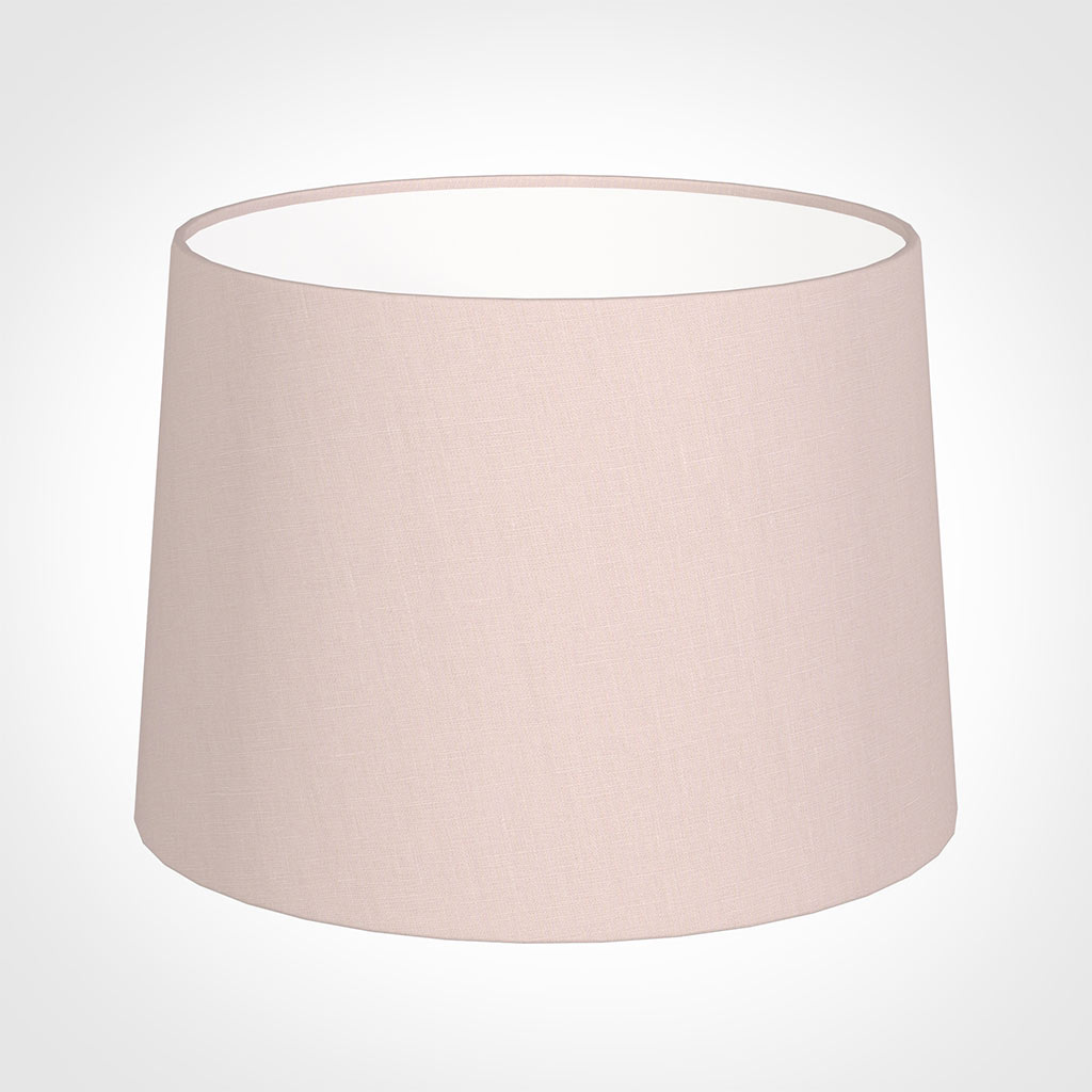 40cm Medium French Drum Shade in Vintage Pink