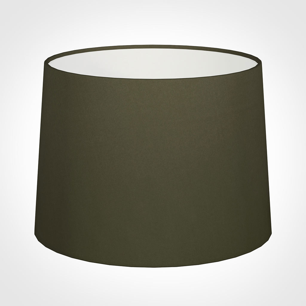 45cm Medium French Drum Shade in Laurel Satin