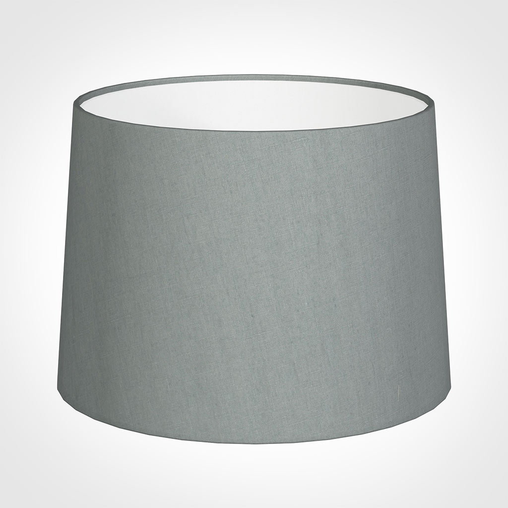 45cm Medium French Drum Shade in BlueWaterford Linen