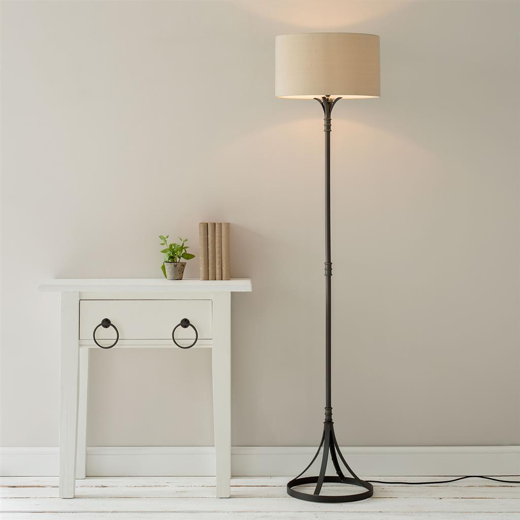 Christchurch Floor Lamp in Beeswax