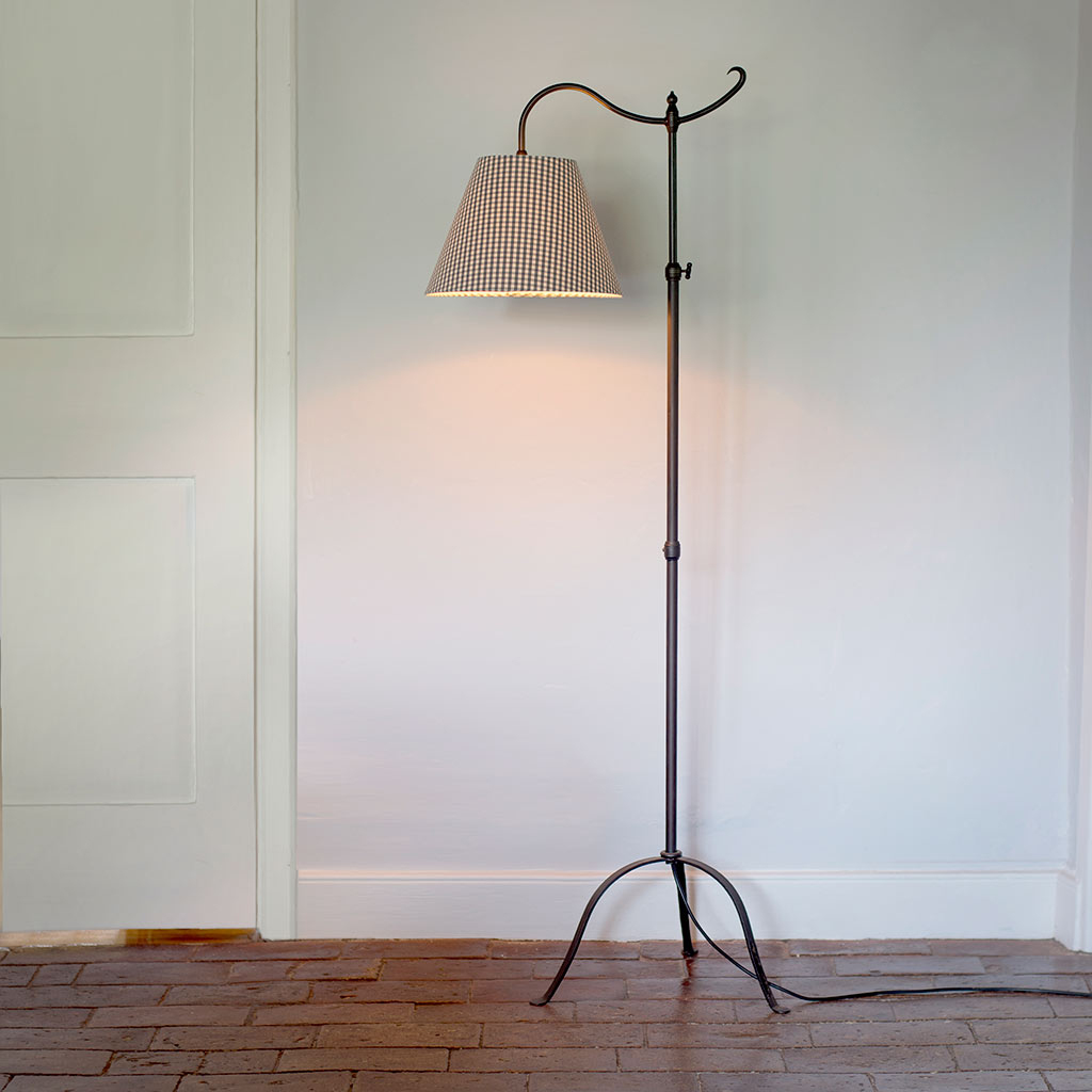 Nayland Adjustable Reading Lamp in Matt Black