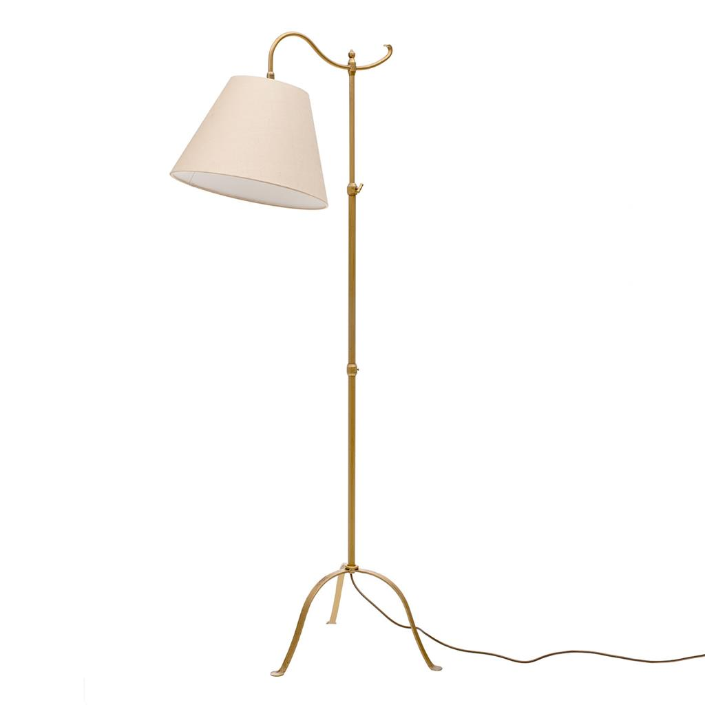 Nayland Adjustable Reading Lamp in Old Gold