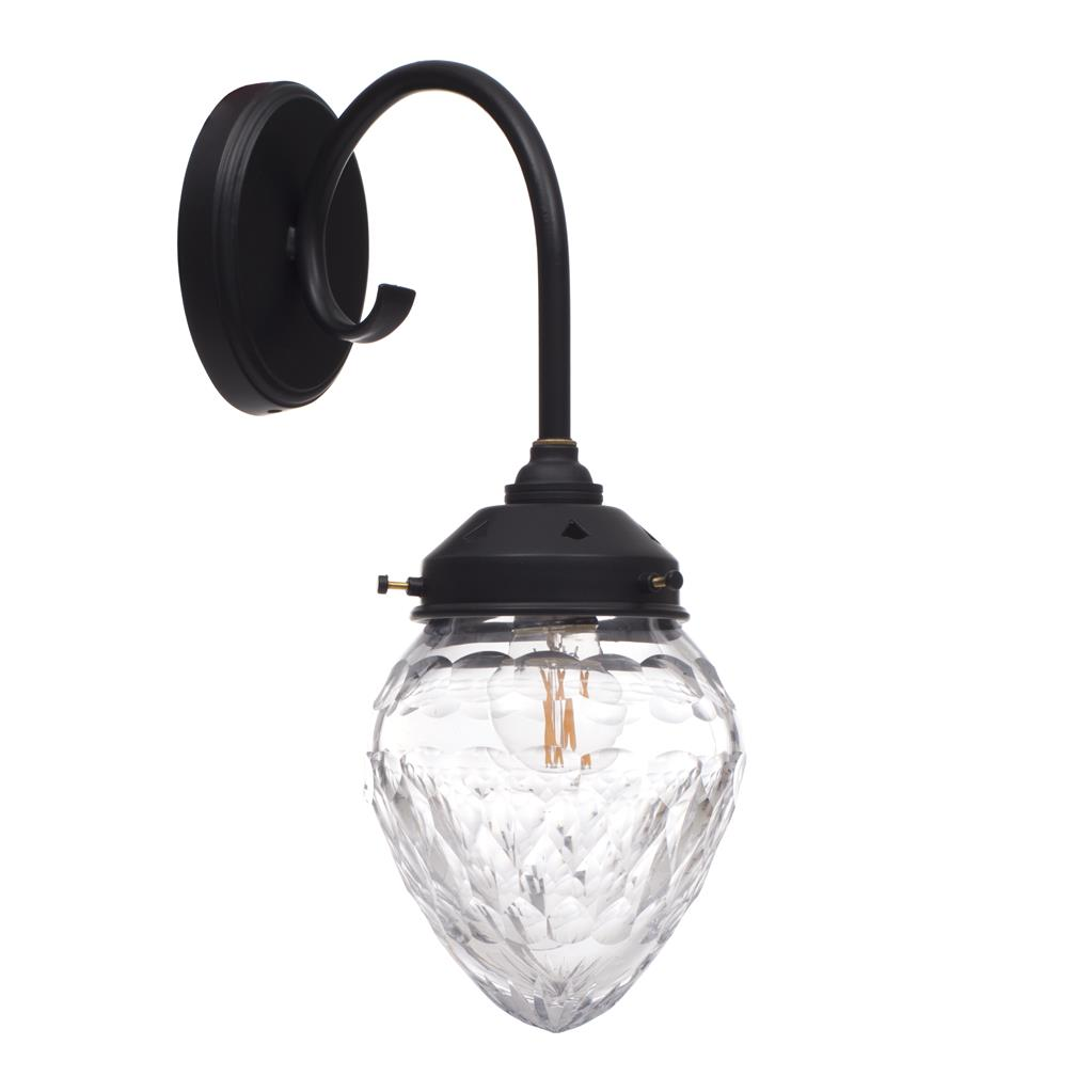 Orfila Wall Light in Matt Black