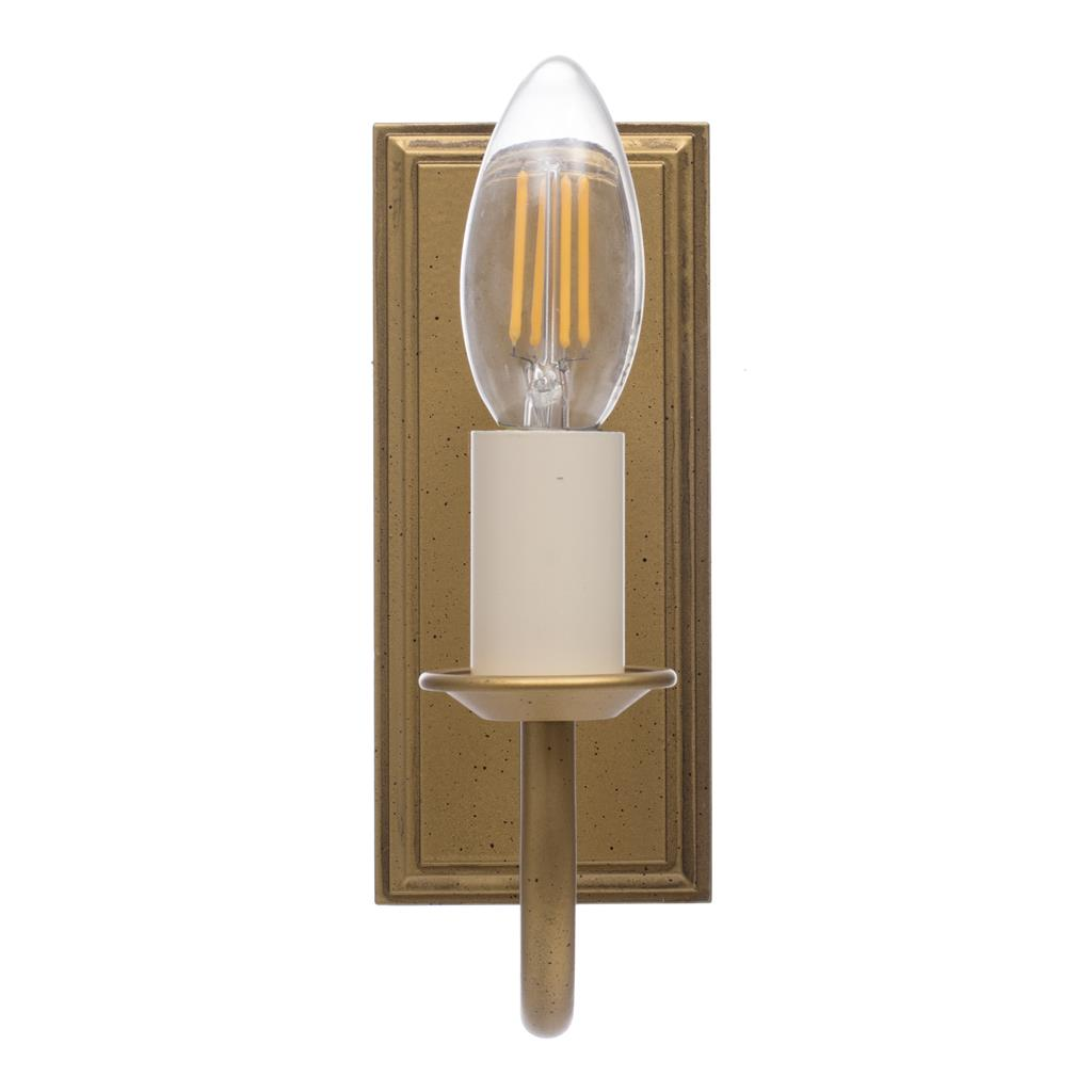 Single Gosford Wall Light in Old Gold
