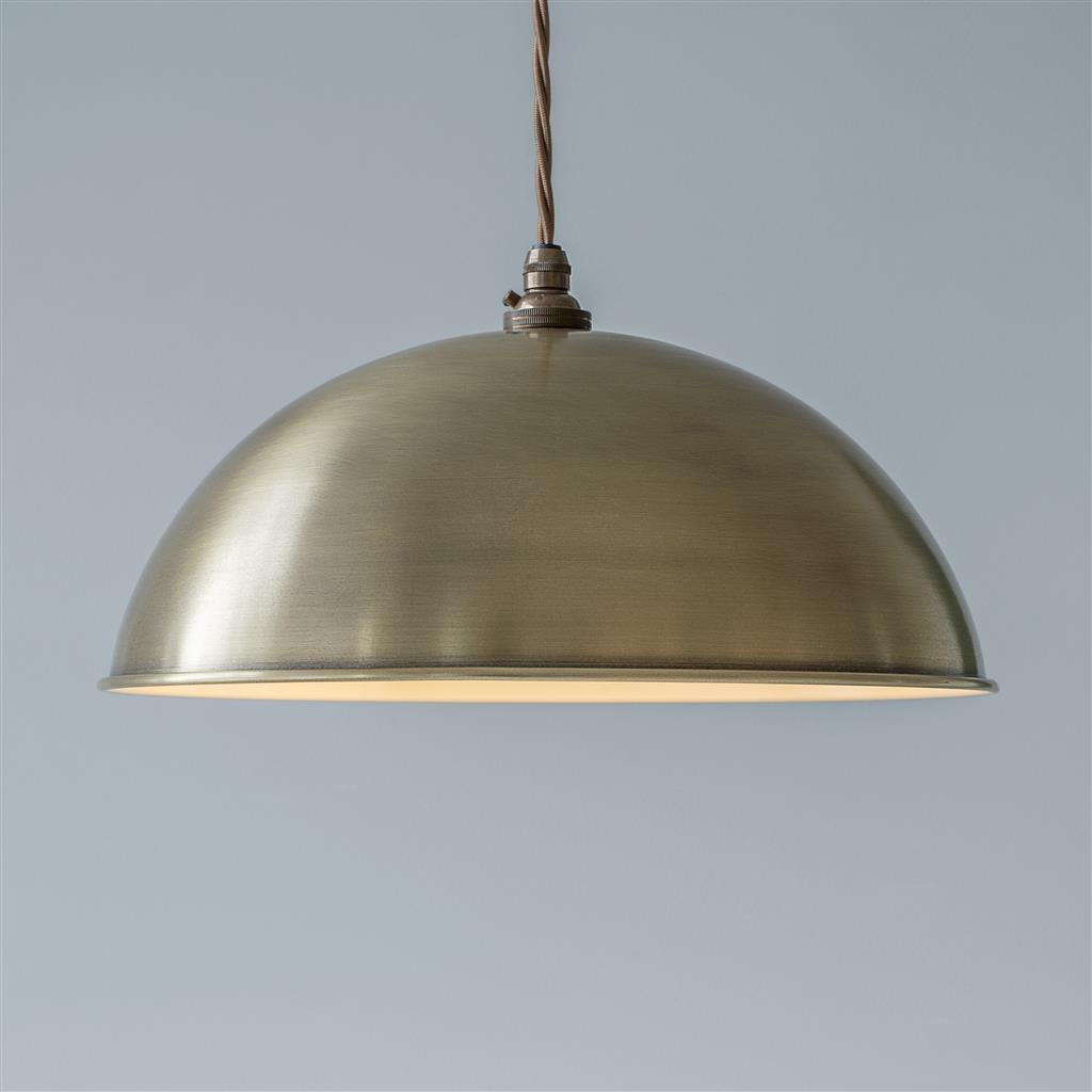 Pantry Light in Antiqued Brass