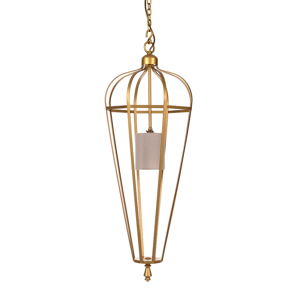 Sofia Pendant Light in Old Gold