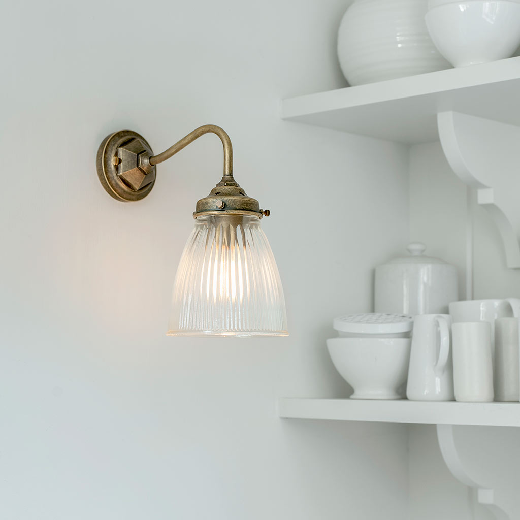 Fisher wall light