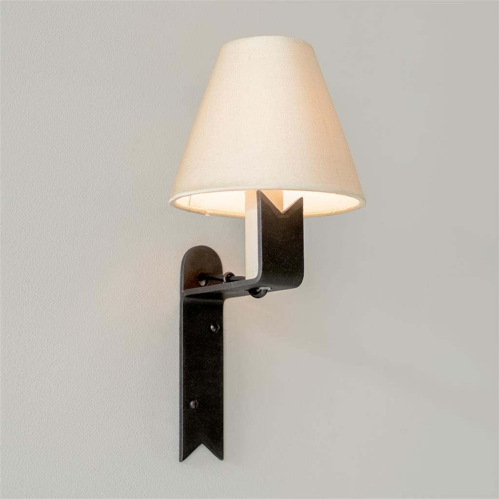 Audley Wall Light in Beeswax