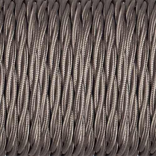 Grey Braided Cable