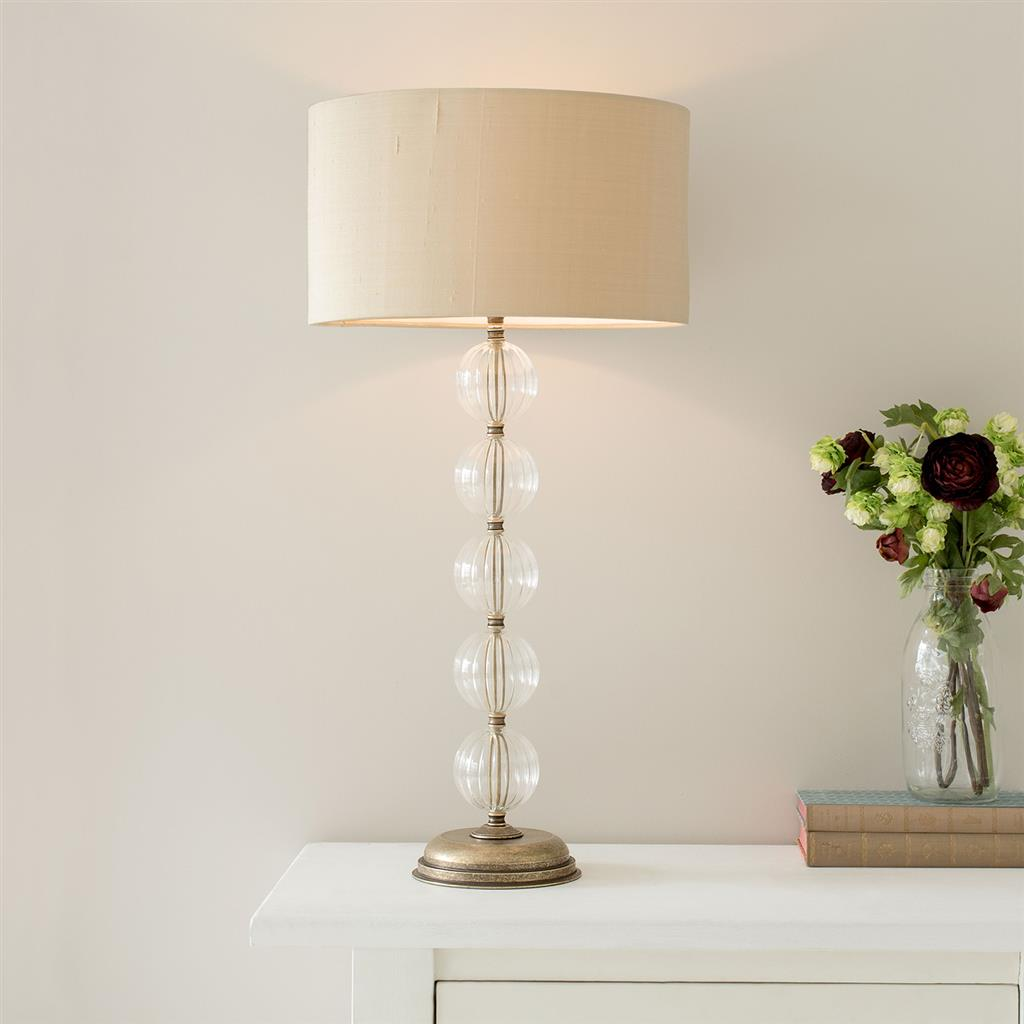 Burford Table Lamp in Antiqued Brass