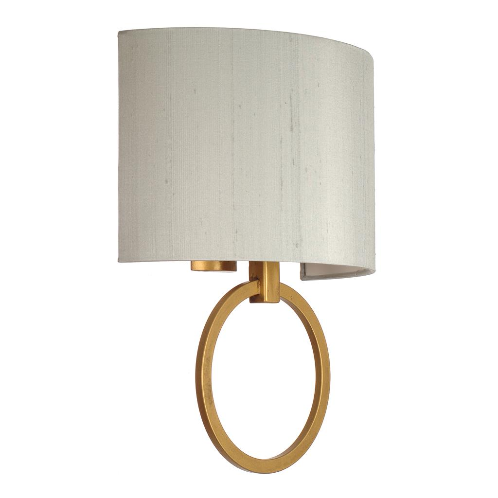 Harrington Wall Light in Old Gold