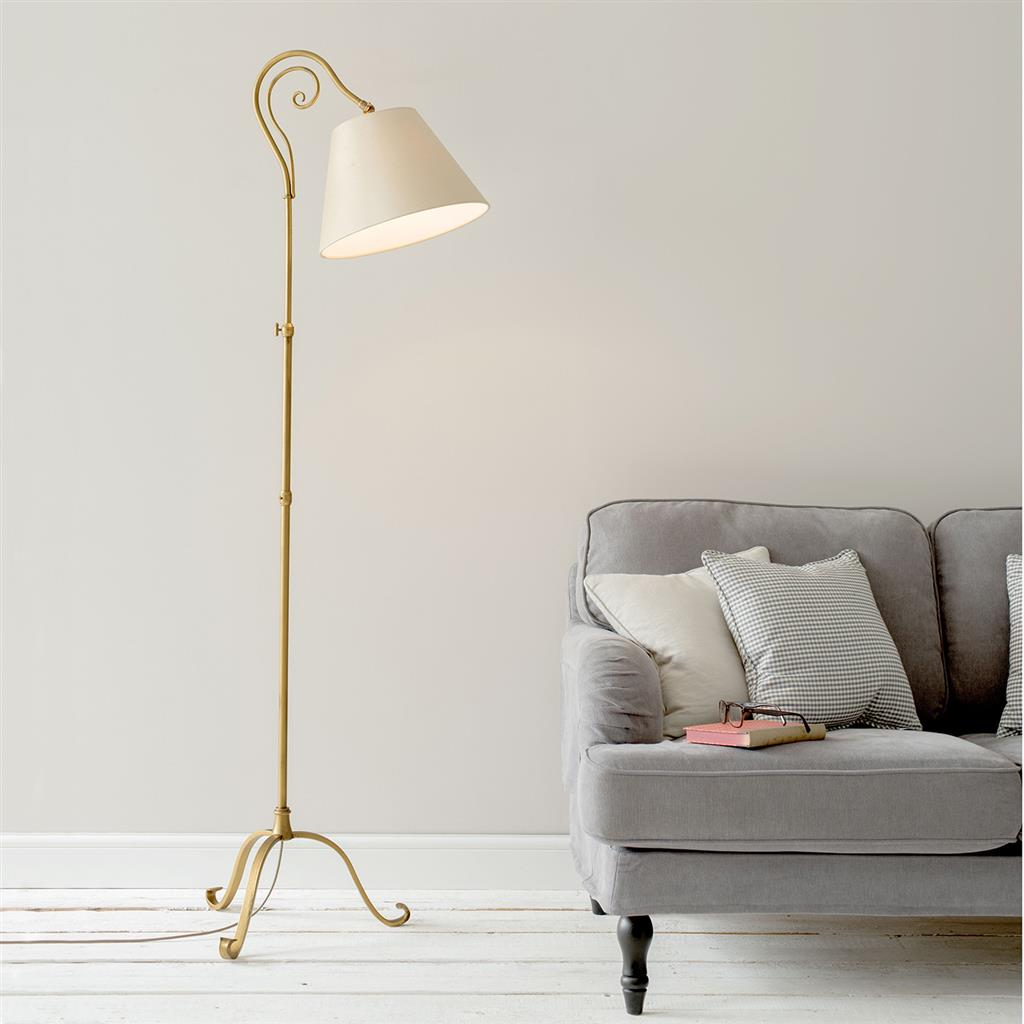 Brompton Reading Lamp in Old Gold