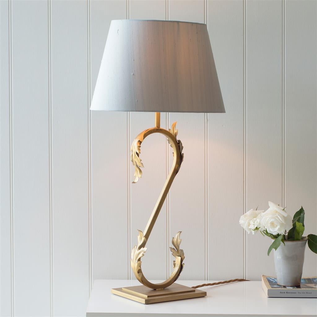Icanthus Table Lamp in Old Gold