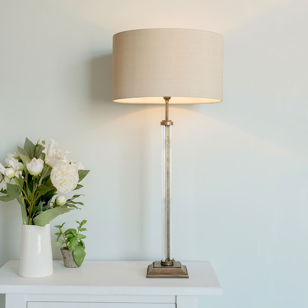 Chiswick Table Lamp in Antiqued Brass